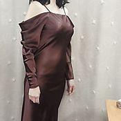 """Одежда ручной работы. Ярмарка Мастеров - ручная работа Платье вечернее """"Шоколад"""". Handmade."""