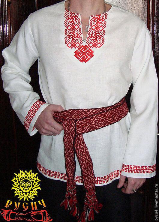 Вышивка на рубахе символизирует связь с богами, призвана раскрыть родовую память, привносит помощь пращуров в жизнь.