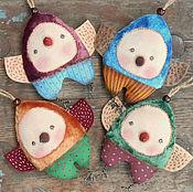 Куклы и игрушки ручной работы. Ярмарка Мастеров - ручная работа Птички-невелички. Handmade.