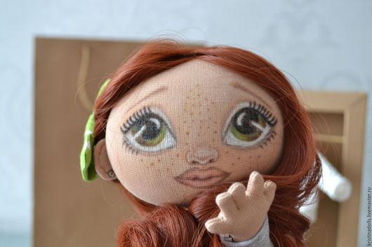 Коллекционные куклы ручной работы. Ярмарка Мастеров - ручная работа. Купить текстильная кукла!. Handmade. Серый, текстильная игрушка, холлофайбер