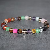 Украшения handmade. Livemaster - original item Bracelet from the gems of Russian gems bracelet. Handmade.