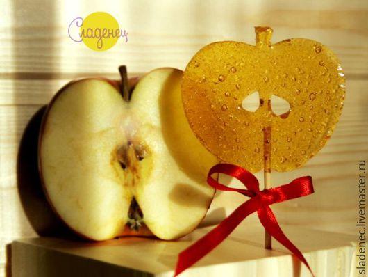 СЛАДЕНЕЦ яблоко. (авторские карамельные леденцы)