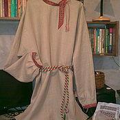 Русский стиль ручной работы. Ярмарка Мастеров - ручная работа Рубаха мужская льняная с ручной вышивкой 2. Handmade.
