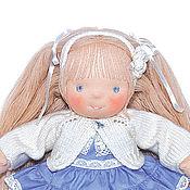 Куклы и игрушки ручной работы. Ярмарка Мастеров - ручная работа вальдорфская кукла Снежиночка. Handmade.