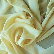 Ткани ручной работы. Ярмарка Мастеров - ручная работа Ткань Шифон №30 для вечерних и выпускных платьев. Handmade.