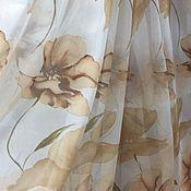 Для дома и интерьера handmade. Livemaster - original item Sale Tulle (ready) with flowers. Handmade.