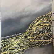 "Картины ручной работы. Ярмарка Мастеров - ручная работа Картина ""Туман"". Handmade."