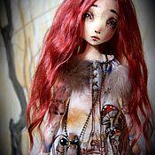 Куклы и игрушки ручной работы. Ярмарка Мастеров - ручная работа Сары-Кыс. Авторская текстильная кукла. Handmade.