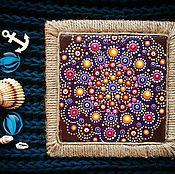 """Картины и панно ручной работы. Ярмарка Мастеров - ручная работа Мандала """"Уют"""". Handmade."""