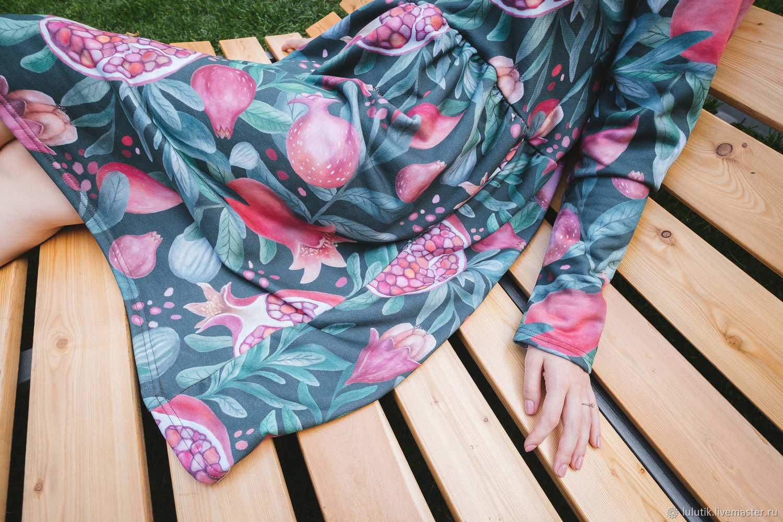 Платье для кормящих и беременных, Гранаты, Платья, Москва,  Фото №1