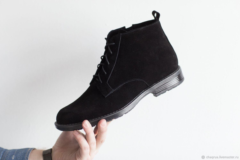 ad3de63e1 Купить Мужские ботинки с квадратным носком Обувь ручной работы. Мужские  ботинки с квадратным носком Chaqrua. Chaqrua (Шакруа).