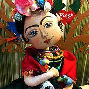 Куклы и игрушки ручной работы. Ярмарка Мастеров - ручная работа Фрида (Диего в Сердце). Handmade.