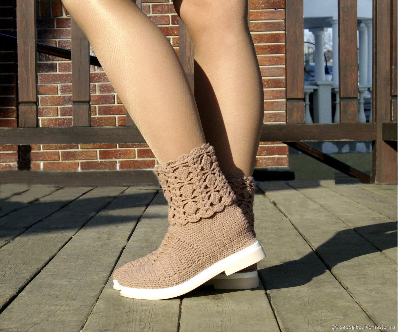 Summer boots-transformers ' Kristina', High Boots, Ryazan,  Фото №1