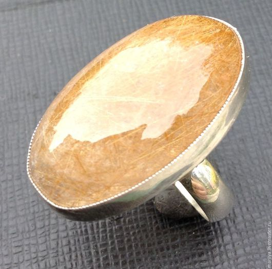 Кольца ручной работы. Ярмарка Мастеров - ручная работа. Купить Кольцо с волосатиком. Handmade. Комбинированный, кольцо с волосатиком, волосатик