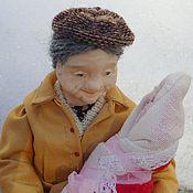 Куклы и игрушки ручной работы. Ярмарка Мастеров - ручная работа Внучкина бабушка.. Handmade.
