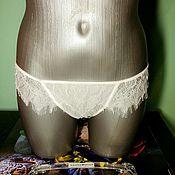 Одежда handmade. Livemaster - original item Panty Thong lace, handmade.. Handmade.