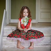"""Работы для детей, ручной работы. Ярмарка Мастеров - ручная работа Платье """"Розочки ретро"""". Handmade."""