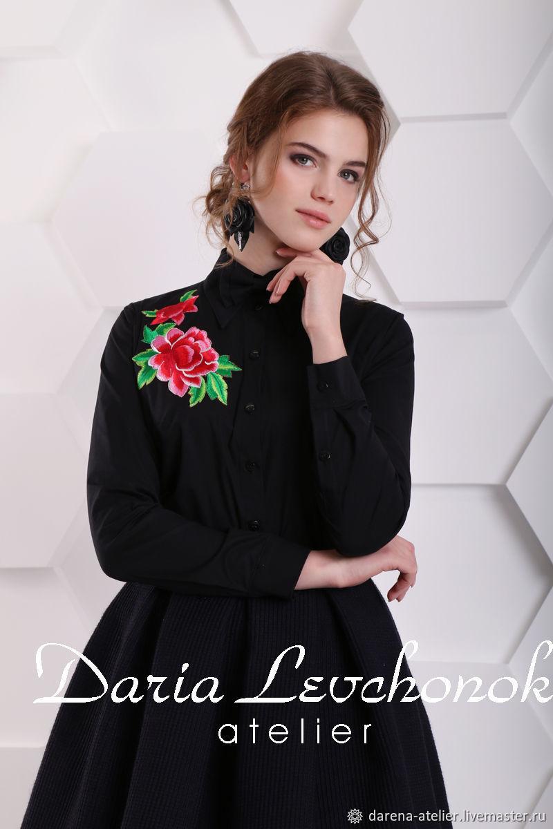 34e00fc14f7 Блузки ручной работы. Ярмарка Мастеров - ручная работа. Купить  Блуза-рубашка Роза ...