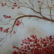 """Картины и панно ручной работы. Ярмарка Мастеров - ручная работа Картина """"Японский клен"""". Handmade."""