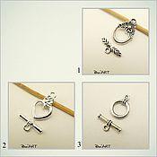Материалы для творчества handmade. Livemaster - original item Toggle. Lock for jewelry Art.ZU10. Handmade.