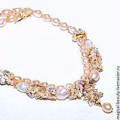 Украшения handmade. Livemaster - original item a necklace of pearls