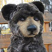 Куклы и игрушки ручной работы. Ярмарка Мастеров - ручная работа Авторский мишка Чарыш (Bear cub Charysh). Handmade.