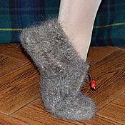 """Обувь ручной работы. Ярмарка Мастеров - ручная работа Тапочки из собачьей шерсти """"Ягодки"""". Handmade."""
