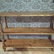 Столы ручной работы. Ярмарка Мастеров - ручная работа Консоль этажерка. Handmade.