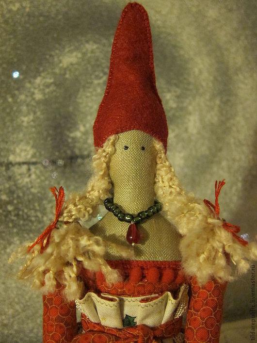 Куклы Тильды ручной работы. Ярмарка Мастеров - ручная работа. Купить Новогодняя Тильда Джейн. Handmade. Кукла Тильда