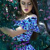 """Одежда ручной работы. Ярмарка Мастеров - ручная работа Платье """"Legend. Lilac dreams"""". Handmade."""