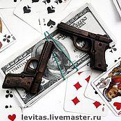 """Косметика ручной работы. Ярмарка Мастеров - ручная работа Мыло """"Карты, деньги, два ствола"""". Handmade."""