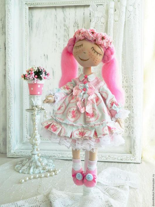 Человечки ручной работы. Ярмарка Мастеров - ручная работа. Купить Карина - интерьерная кукла.Резерв.. Handmade. Кукла ручной работы