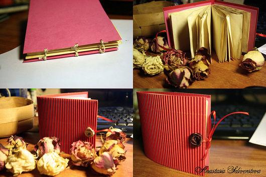 """Блокноты ручной работы. Ярмарка Мастеров - ручная работа. Купить Блокнот """"Розовый"""". Handmade."""