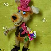 Куклы и игрушки ручной работы. Ярмарка Мастеров - ручная работа Пёс Грей. Handmade.