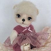 Куклы и игрушки ручной работы. Ярмарка Мастеров - ручная работа Мишка Тедди. Лика.. Handmade.