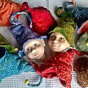 Куклы и игрушки ручной работы. Ярмарка Мастеров - ручная работа Колпачки - крези. Handmade.