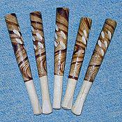 Как сделать мундштук для сигарет своими руками из дерева