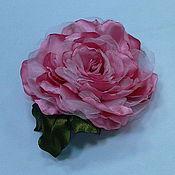 Цветы ручной работы. Ярмарка Мастеров - ручная работа Цветок из ткани ручной работы Роза. Handmade.