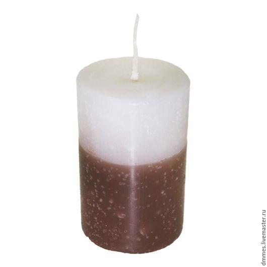 """Свечи ручной работы. Ярмарка Мастеров - ручная работа. Купить Ароматическая свеча """"Ваниль и шоколад"""". Handmade. Коричневый, аромасвеча"""