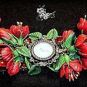 Украшения ручной работы. Ярмарка Мастеров - ручная работа китайские розы. Handmade.