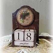 Канцелярские товары ручной работы. Ярмарка Мастеров - ручная работа Вечный календарь. Handmade.