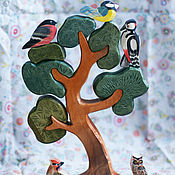 Игровые наборы ручной работы. Ярмарка Мастеров - ручная работа Большое разборное дерево сосна. Handmade.