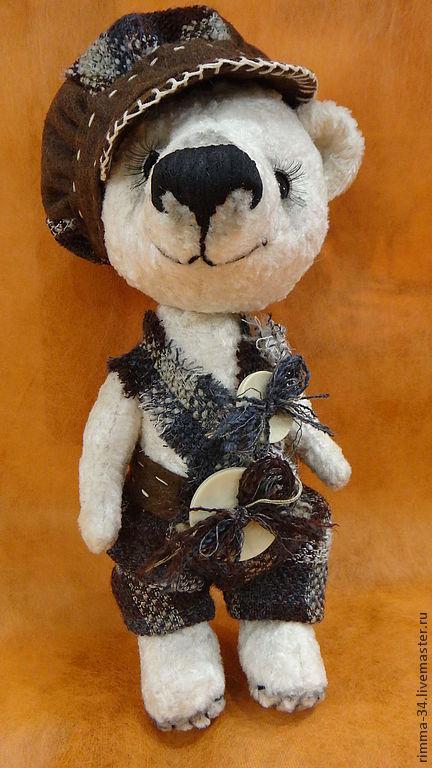 Мишки Тедди ручной работы. Ярмарка Мастеров - ручная работа. Купить Медвежонок  Николка. Handmade. Медвежонок, подарок на любой случай