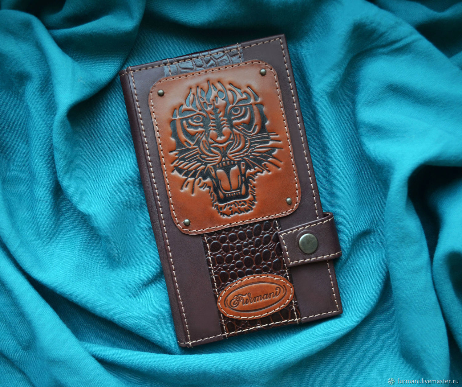 "Leather wallet ""TIGER"", Wallets, Krivoy Rog,  Фото №1"