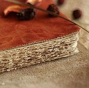 Канцелярские товары ручной работы. Ярмарка Мастеров - ручная работа Терракотовая книга. Handmade.