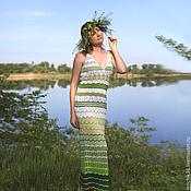 """Одежда ручной работы. Ярмарка Мастеров - ручная работа Платье-сарафан """"Травушка"""". Handmade."""