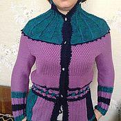 Одежда ручной работы. Ярмарка Мастеров - ручная работа Жакет для художницы Ирины. Handmade.