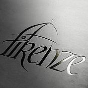 Дизайн и реклама handmade. Livemaster - original item Florence logo. Handmade.
