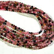 handmade. Livemaster - original item Tourmaline beads for jewelry. thread. Handmade.
