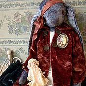 """Куклы и игрушки ручной работы. Ярмарка Мастеров - ручная работа Зайка""""Голубая""""II. Handmade."""